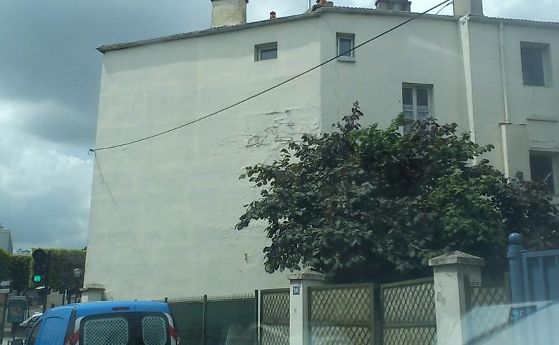 Second cas de : Fuite sur façade.