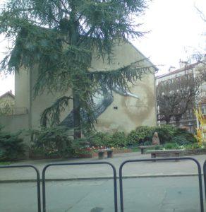 Fuites visible sur façade