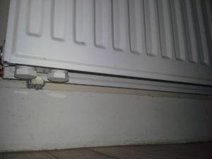 Alimentation radiateur par le bas