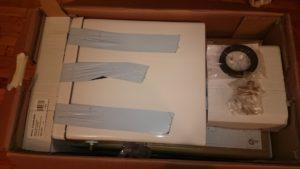Déballage du pack WC