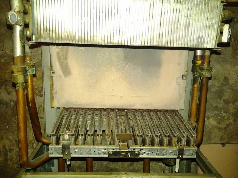 Corps de chauffe ou échangeur de chaudière classique