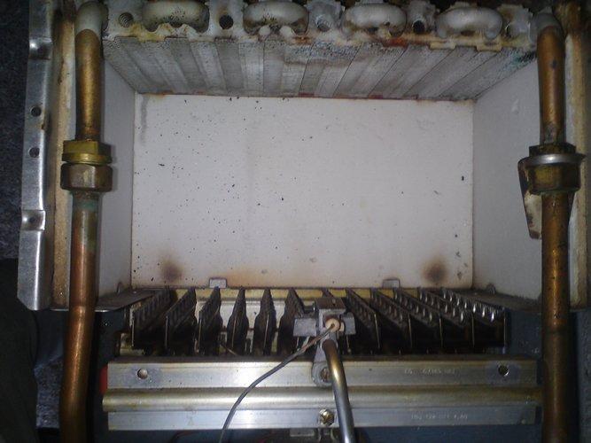 Chambre de combustion de chaudière