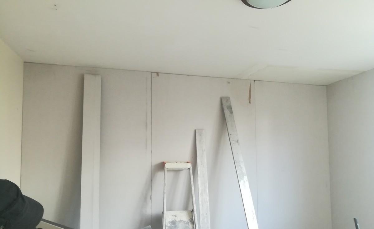 doublage des murs par l'interieur